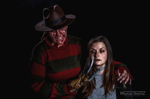 Freddy Krüger Shooting mit Steffi